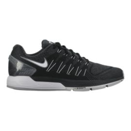 Nike Men's Air Zoom Odyssey Running Shoes - Black/Grey/White