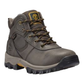 Timberland Kids' Mt. Maddsen Grade School Hiking Boots - Dark Brown