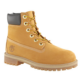 Timberland Kids 6 Inch Premium WP Grade School Casual Boots - Wheat