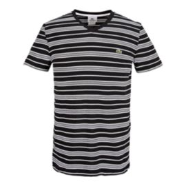 Lacoste Striped Men's V-Neck Tee