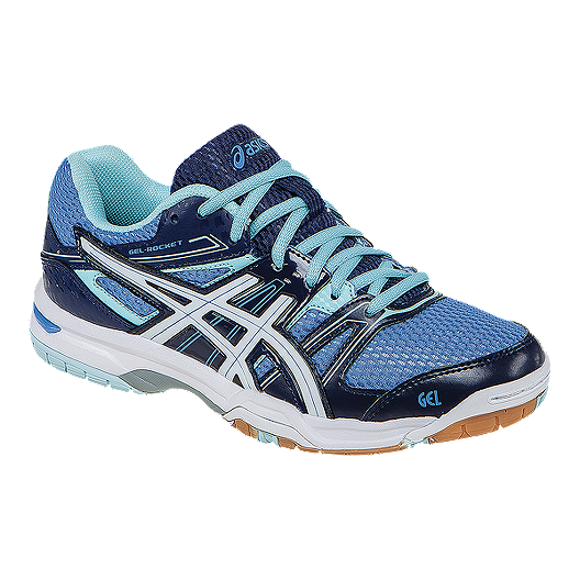 7485294d04f0 ASICS Women s Gel Rocket 7 Indoor Court Shoes - Royal Blue Blue ...