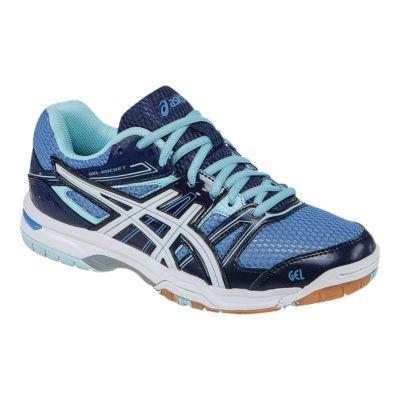 ASICS Women\u0027s Gel Rocket 7 Indoor Court Shoes - Royal Blue/Blue