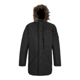 Columbia TurboDown Black Cap Men's Jacket