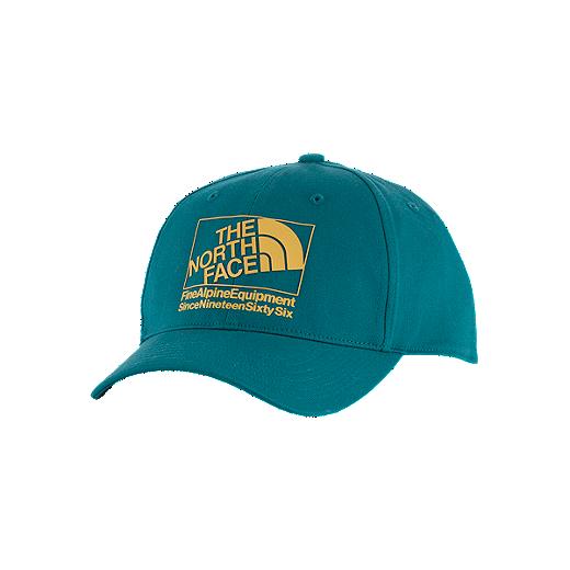 7edc2fd0 The North Face High Density Men's Ball Cap - BDD - HYDRO GREEN