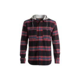 DC Hood Up Men's Long Sleeve Flannel Top
