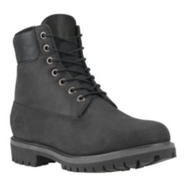 "Timberland Men's Heritage 6"" Lined Boots - Black"