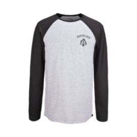 Quiksilver Black Night Men's Long Sleeve Raglan Tee