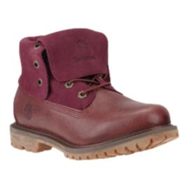 Timberland Women's Authentics Suede Boots - Port