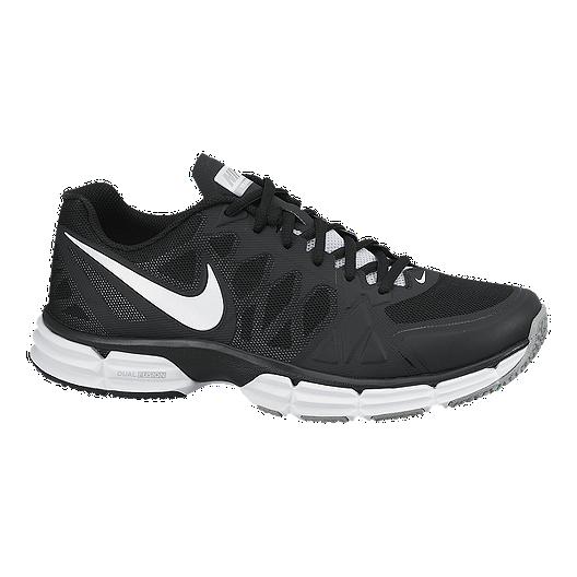 45e5fcbd166c2 Nike Men s Dual Fusion TR 6 Training Shoes - Black White