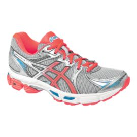 ASICS Women's Gel Exalt 2 Running Shoes - Silver/Pink/Blue