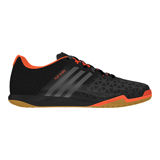 3534f01b5 adidas Men s VS Ace 15.2 Topsala Indoor Soccer Shoes - Black Orange Gum