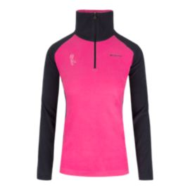 Columbia Tested Tough In Pink Women's ½ Zip Top