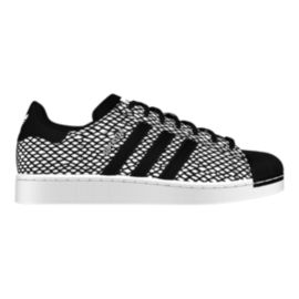 adidas Men's Superstar (Snake) Casual Shoes - Grey/Black