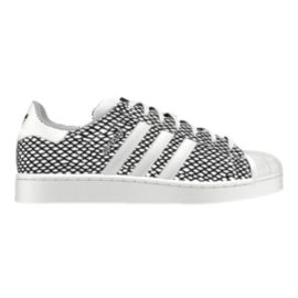 adidas Men's Superstar (Snake) Casual Shoes - Grey/White