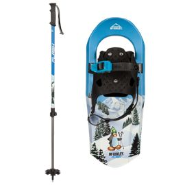 McKINLEY Kids' Flash 17 inch Snowshoes - Blue