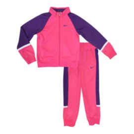Nike T45 Tricot Warm Up Girls' Suit