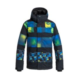 Quiksilver Boys' Fiction Insulated Jacket
