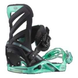 Salomon Hologram Men's Snowboard Bindings 2015/16 - Black/Green