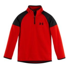 Under Armour Hundo Kids' &frac14&#x3b; Zip Fleece Top