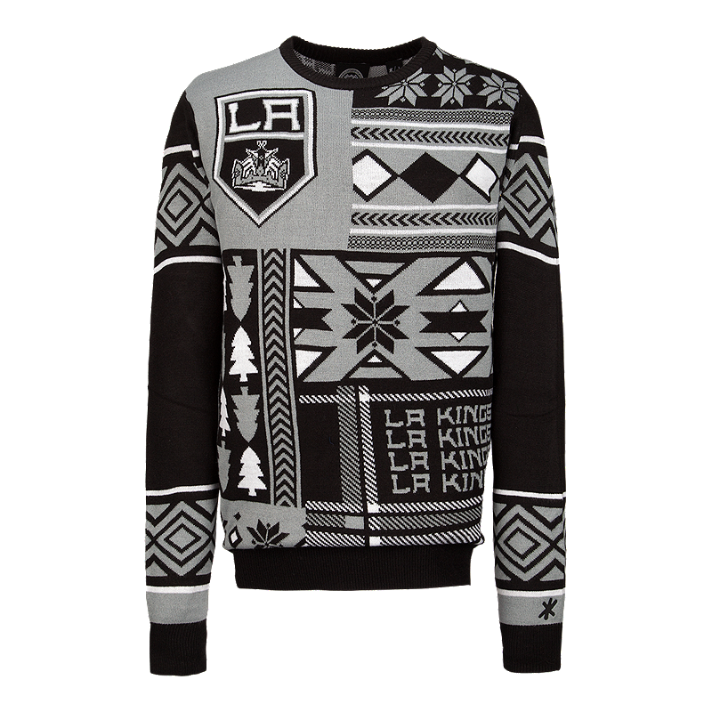 best service cee47 bd14a Los Angeles Kings Ugly Patchwork Crew Sweater | Sport Chek