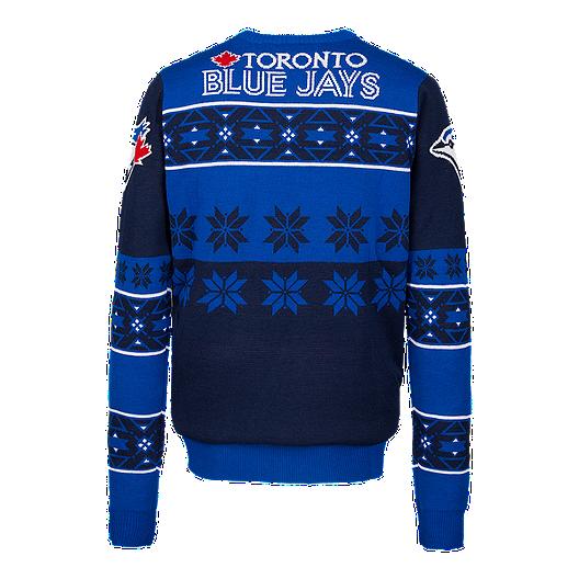1798da1ca Toronto Blue Jays Ugly Big Logo Sweater