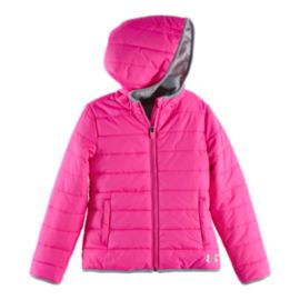 Under Armour Logo Puffer Girls' Insulated Jacket