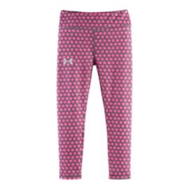 Under Armour XO Dot Printed Girls' Leggings