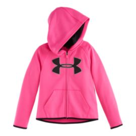 Under Armour Big Logo Girls' Full Zip Hoodie