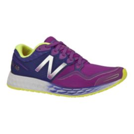 New Balance Women's Zante B Running Shoes - Navy/Purple/Yellow