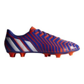 adidas Men's Predito Instinct FG Outdoors Soccer Cleats - Blue/Orange/White