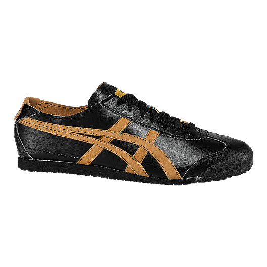 the latest ee4f3 8c761 ASICS Men's Onitsuka Tiger Mexico 66 Shoes - Black/Tan ...