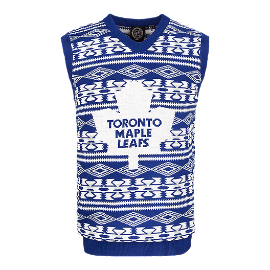 finest selection f291a ffac0 Toronto Maple Leafs Ugly Vest Sweater | Sport Chek