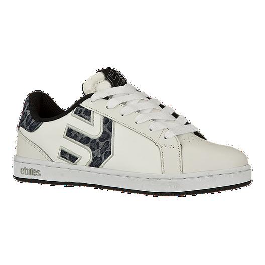 86833e10318a77 Etnies Women's Fader LS Skate Shoes - White/Grey | Sport Chek