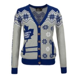 Toronto Maple Leafs Ugly Cardigan Women's Sweater