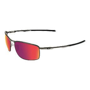 Oakley Conductor 8 Polarized Sunglasses- Carbon with Red Iridium Lenses