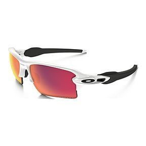 8ef19989a9 Oakley Flak 2.0 XL Sunglasses- Polished White with Prizm Baseball Outfield  Lenses
