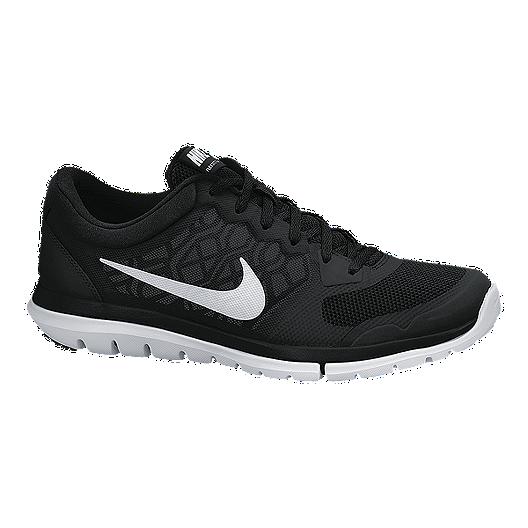 3203b3b80af6 Nike Women s Flex Run 2015 Running Shoes - Black White