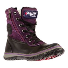 Pajar Leslie Women's Winter Boots - Purple/Black