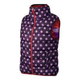 Nike Girls' Alliance Graphic Insulated Vest