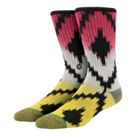 Stance Side Step Wachutu Men's Crew Socks