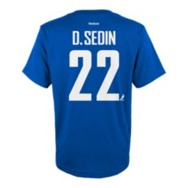 Vancouver Canucks Kids' Daniel Sedin Name & Number T Shirt