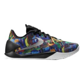 Nike Men's Hyperchase Premium Basketball Shoes - Multi Print/Silver/Black