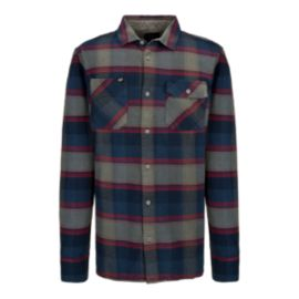 Fox Jagger Men's Long Sleeve Flannel Top