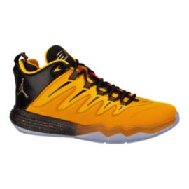 "Nike Men's Jordan CP3.IX ""Yellow Dragon"" Basketball Shoes - Yellow/Black/Gold"