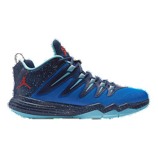 timeless design 4c4b0 4acd3 Nike Men s Jordan CP3.IX Basketball Shoes - Blue Navy Red   Sport Chek