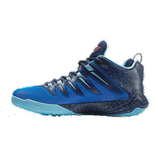 dfc674e9e6e09b Nike Men s Jordan CP3.IX Basketball Shoes - Blue Navy Red