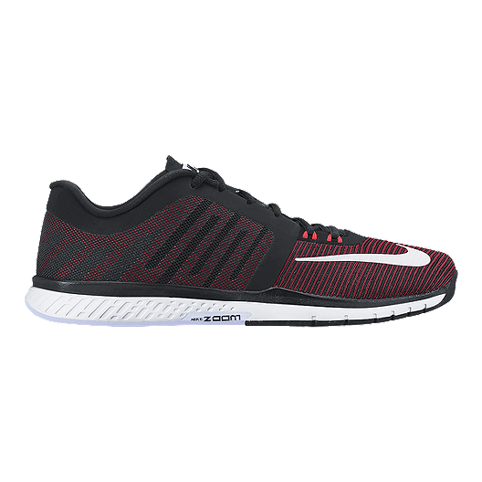 7a6235a49c0e Nike Men s Zoom Speed TR 3 Training Shoes - Black Red