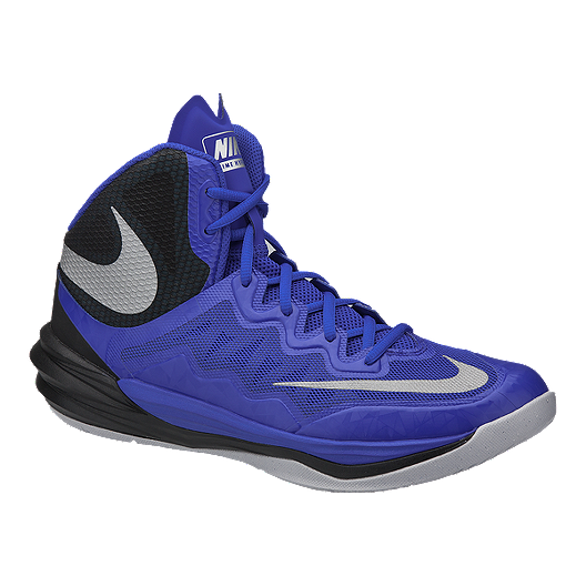 best loved 684e3 9cbd3 Nike Men's Prime Hype 2 DF Basketball Shoes - Blue/Black ...