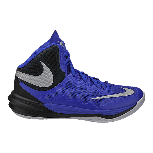 best loved 45355 db7c4 Nike Men's Prime Hype 2 DF Basketball Shoes - Blue/Black ...