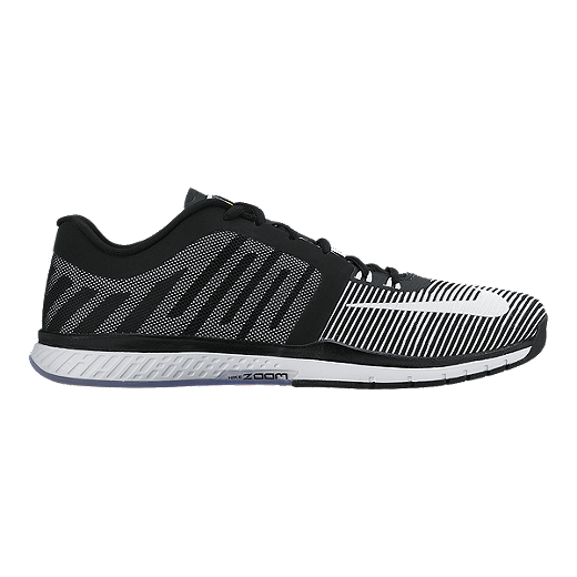 buy popular 0973d 89633 Nike Men s Zoom Speed TR 3 Training Shoes - Black White   Sport Chek